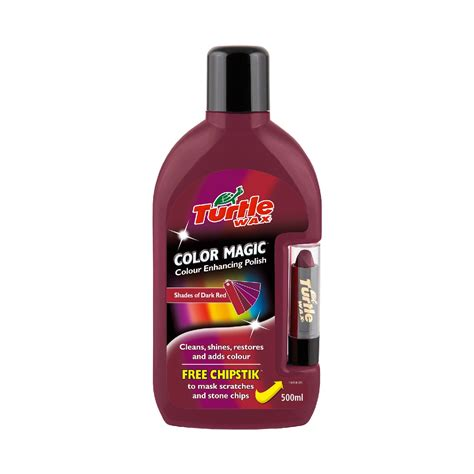 turtle wax color magic scratch remover 500ml