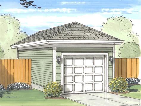 1 5 car garage plans one car garage plans detached 1 car garage plan with hip