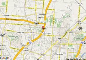 West Chester Ohio Map by Map Of Four Points By Sheraton West Chester