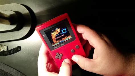 gameboy raspberry pi case mod pi boy pocket game boy pocket mod raspberry pi final
