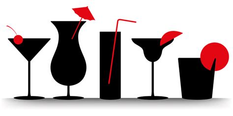 cocktail silhouette png cocktails summer beverages 183 free vector graphic on pixabay