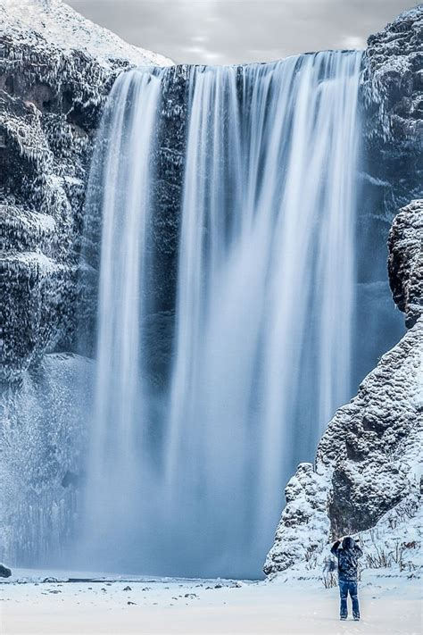 frozen waterfall wallpaper 366 best images about spa inspirations on pinterest