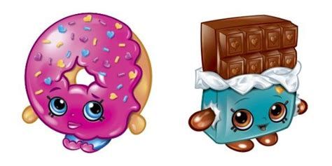 free coloring pages of shopkins donut