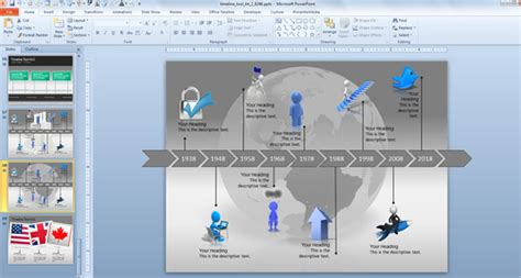 Powerpoint Timeline Template Free Bountr Info Free Powerpoint Timeline Templates
