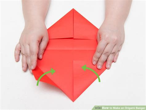 how to make an origami banger 13 steps with pictures