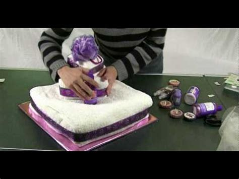 towel cakes for bridal shower how to make how to make a towel cake gift ideas and centerpieces