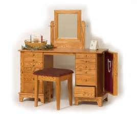 Wood Vanity Table Wood Vanity Table Home Design Ideas