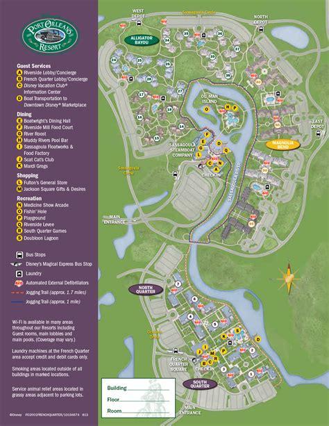 Grand Beach Resort Orlando Floor Plan by Port Orleans Riverside Resort Map Kennythepirate Com