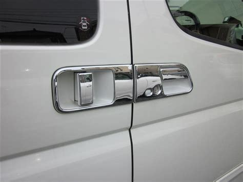 Nissan Grand Livina Handle Cover Chrome 1 purchase 8 pcs of nissan elgrand 2002 2009 door knob cover handle chrome surface finish