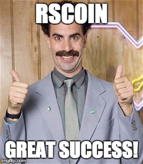Great Success Meme - borat imgflip