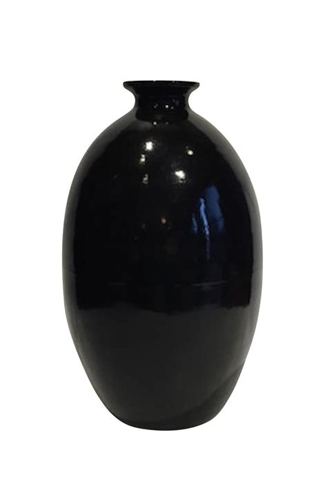 balsamo antiques contemporary chinese extra large black vase