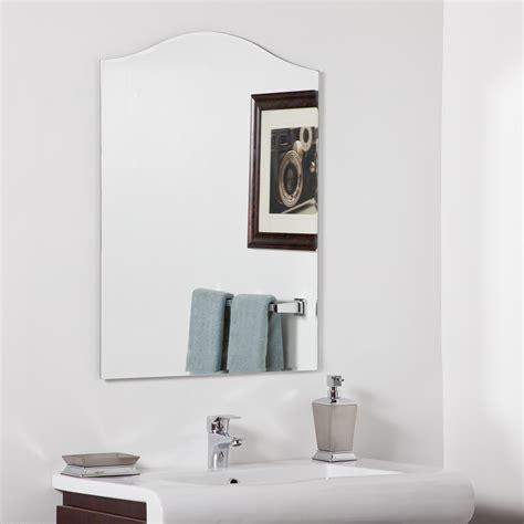 Decor wonderland allison modern bathroom mirror beyond stores