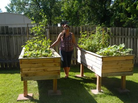 make a raised garden bed cheap build a cheap raised bed from pallets raise your garden