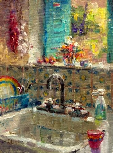 kitchen paintings kitchen sink new mexico original painting by artist
