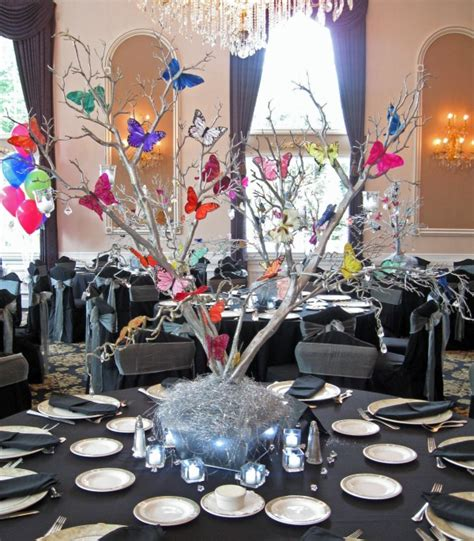 butterfly centerpieces decorations 10 butterfly theme ideas bat mitzvah shower sweet 16 wedding mazelmoments