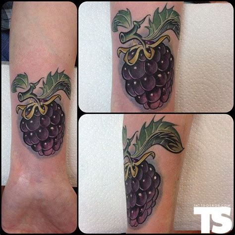 raspberry tattoo designs berry by frank la natra objects