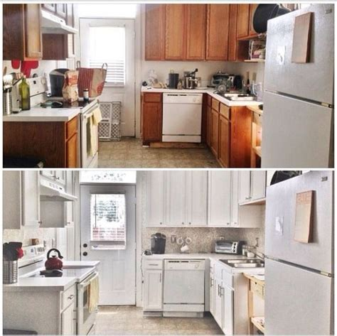 update kitchen cabinets on a budget hometalk before after 387 budget kitchen update