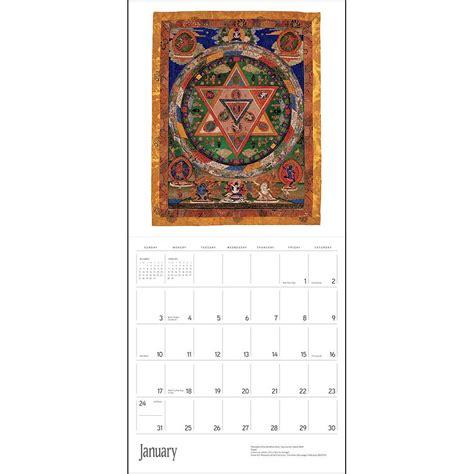buddhist mandalas 2016 wall calendar 9780764969973