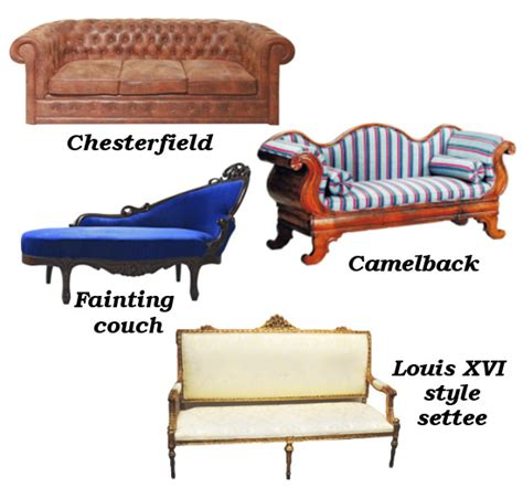types of couches names a helpful guide for buying a vintage sofa