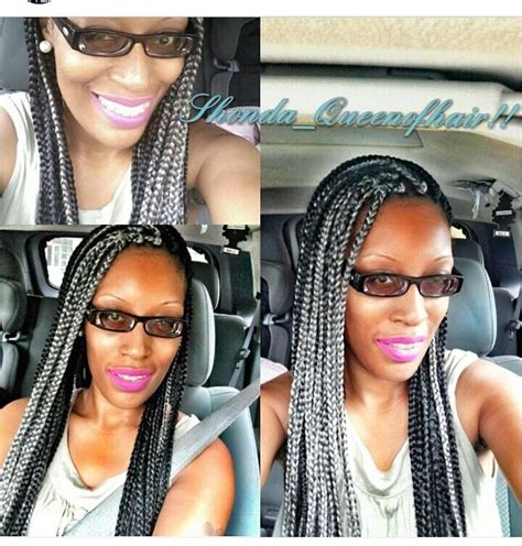 gray poetic justice braids 134 best silver box braids images on pinterest natural