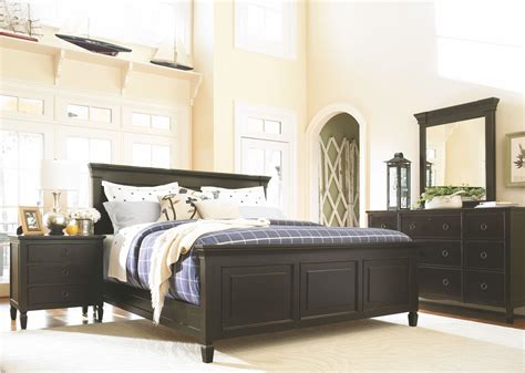 panel bedroom furniture summer hill brown panel bedroom set from universal