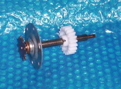 60x10t B Sprocket Gear Gigi o matic sprocket shaft gear assembly aae00346 stk 1140