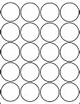 printable glossy labels glossy white printable sticker labels 25 sheets 2 inch