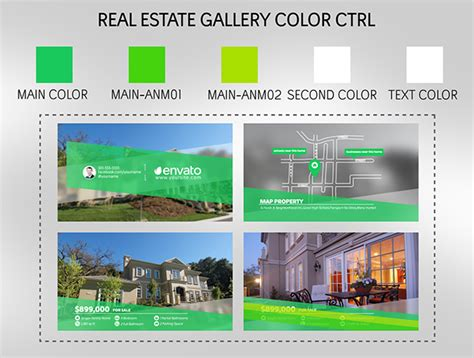 Real Estate Gallery Commercials After Effects Templates F5 Design Com Real Estate After Effects Template