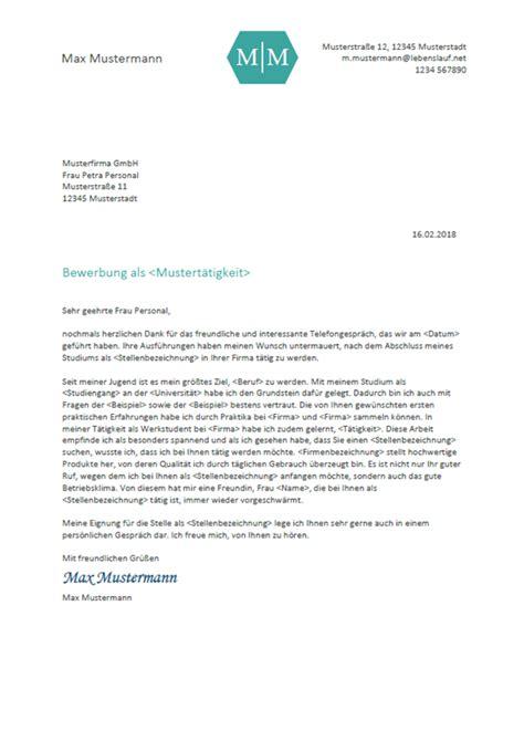 Bewerbungbchreiben Vorlagen Kostenlos bewerbungsschreiben professionelle vorlagen muster 2018