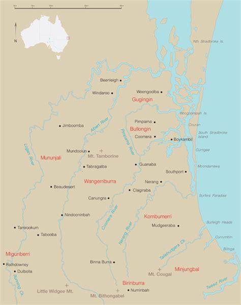 gubbi gubbi people of south east queensland australia map of south east queensland national museum of australia