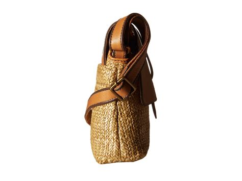 Fossil Kinley Brown Small fossil kinley small crossbody brown zappos free