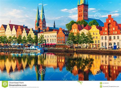 House Plans For A View by Lubeck Germany Stock Photo Image 41129701