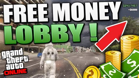 How To Make Free Money In Gta 5 Online - gta 5 money lobby hosting for free after patch 1 16 gta 5 mods youtube