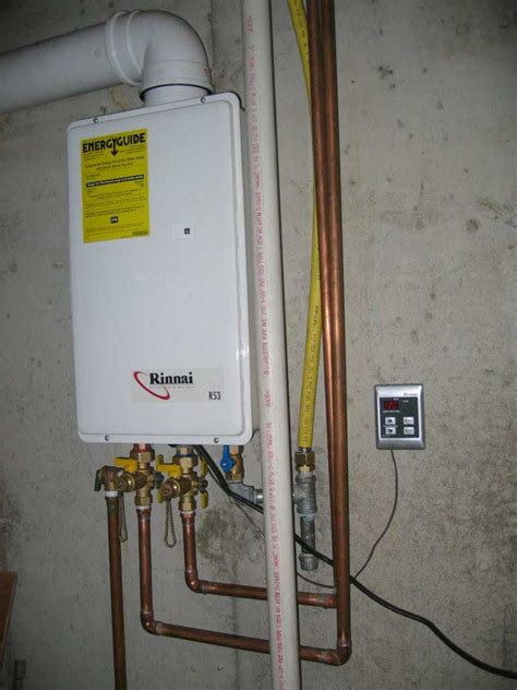 Water Heater With gas tankless water heater