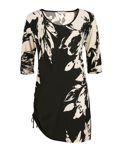 Sleeve Floral Tunic 3 4 sleeve floral tunic rickis