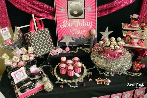karaoke themed birthday party rock star makeover karaoke birthday party ideas photo