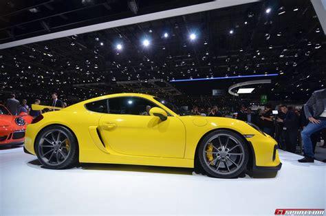 Gt4 Porsche Porsche Cayman Gt4 Tests On The Autobahn Gtspirit