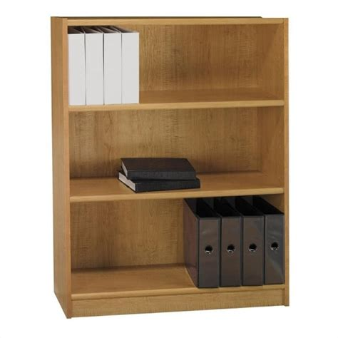 3 shelf wood bookcase sauder heritage hill 3 shelf wood bookcase in cherry