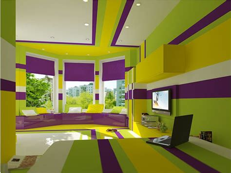 purple and lime green bathroom 69 colorful bedroom design ideas digsdigs lime green
