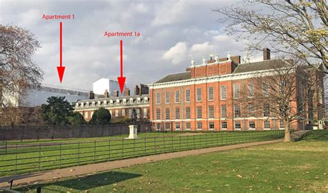 apartment 1a at kensington palace prince harry meghan markle royal wedding the kensington