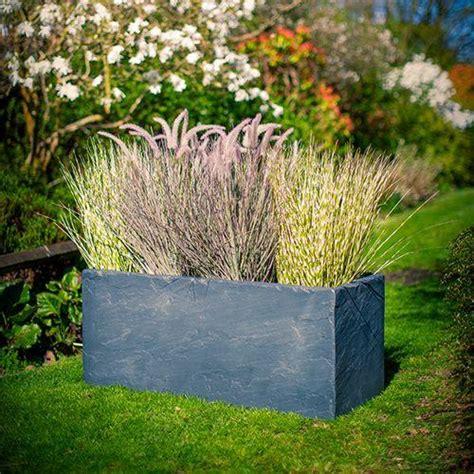 slate effect garden trough planter  high quality fibreglass