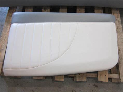 ski boat seat mastercraft ski boat seat cushion white grey ebay