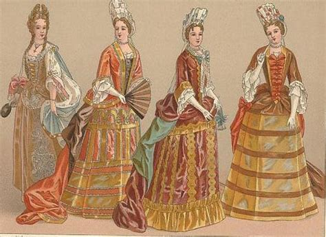 Common fashions during the second half of the period