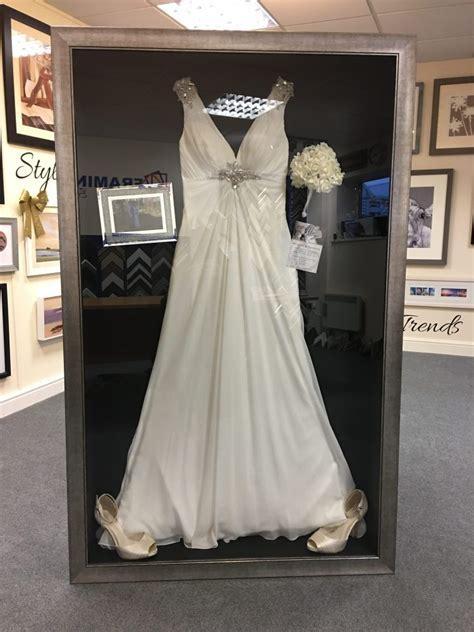 Wedding Dress Frame Ideas To Preserve Your Precious