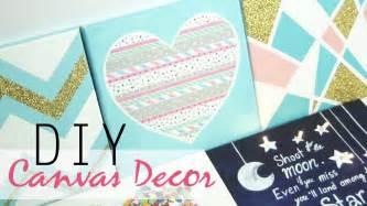 Diy 5 easy canvas decor amp gift ideas youtube