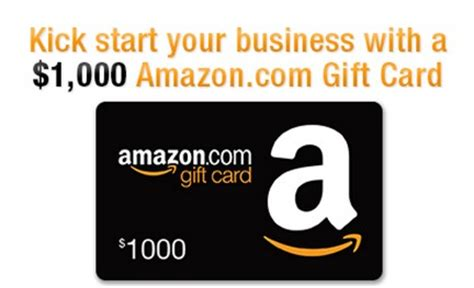 How To Enter An Amazon Gift Card - enter to win a 1 000 amazon com gift card