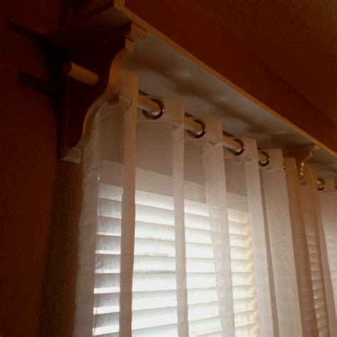 curtain rod shelf 10 best images about curtain call on pinterest shelves