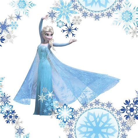 Frozen Wallpaper On Ebay | disney frozen wallpaper borders stickers brand new