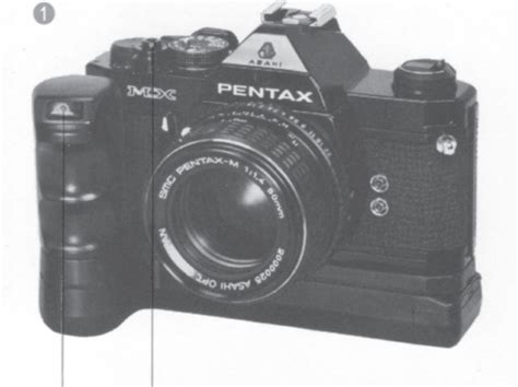 Pentax Mx Winder Instruction Manual Pentax Motor Drive Mx