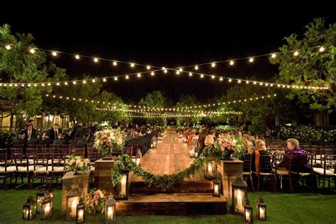 Outdoor Wedding Reception Lighting Ideas Party At Night Outdoor Lighting For Weddings